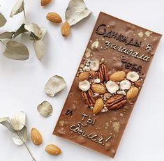 Homemade Chocolate Bars, Chocolate Bark, Chocolate Gifts, How To Make Chocolate, Chocolate Covered, Chocolate Recipes, Creative Cake Decorating, Creative Cakes, Sweet Box