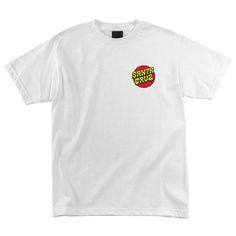 Santa Cruz Skateboards: Tees & Tops: Slime Dot S/S T Shirt