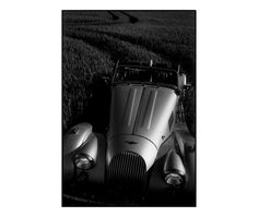 ARTFINDER: Morgan Motor Car by keith Cardwell, Photography Professor/ History of the Visual Arts. - This is from a series of Photographs from the title * Field of Dreams*  I would drive the car into a field of Poppys, Barley or Corn in this case and tried...