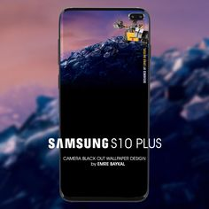 CAMERA BLACK OUT static WALLPAPER FOR SAMSUNG S10 PLUS