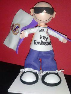 Fofucho seguidor del Real Madrid
