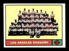 1961 Topps #86 Los Angeles Dodgers TC NM X1404430 #LosAngelesDodgers