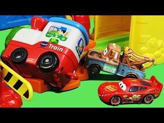 Hot Wheels Shark Park Lightning McQueen Eaten By SHARK Mater Disney Pixar Cars - YouTube