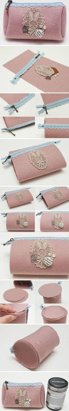 clutch bag m Wonderful DIY beautiful clutch bag