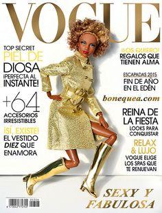 Golden cover girl