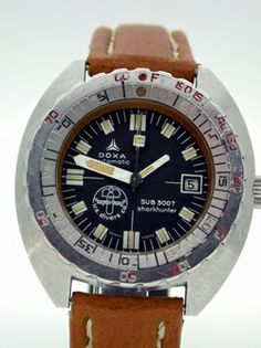 Doxa 300T Sharkhunter: A Vintage Diver Bearing Jacques Cousteau's Signature — HODINKEE - Wristwatch News, Reviews, & Original Stories