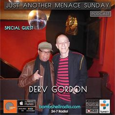 """Bombshell Radio The Menace's Attic/Just Another Menace Sunday Today 4pm-6pm EST bombshellradio.com """"Just Another Menace Sunday"""" radio thing. Hour 1: A Conversation with Derv Gordon lead singer of seminal 60's band The Equals and some great soul/ska selectons! Hour 2: A song from every year the show has been on the air (since 2004) and a few extras too! bombsehllradio.com #ska #reggae #soul #rock #classics #melodicrock #newmusic #interview #dervgordon #theequals #justanothermenacesunday…"""