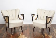 Pair of vintage, cocktail armchairs. #50s #60s #70s #Midcentury #Vintage #Retro #Cocktail_Chair www.viremo.co.uk