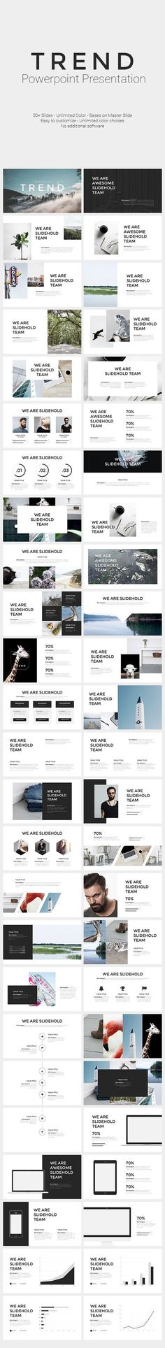 TREND   PowerPoint Template - #PowerPoint #Templates Presentation Templates Download here: https://graphicriver.net/item/trend-powerpoint-template/19442944?ref=alena994