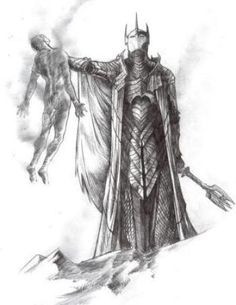 Sauron himself slew Gil-galad with the heat of his bare hands. Recalling the encounter at the great Council at Rivendell before the Fellowship took the One Ring south, Elrond said that only he and Círdan stood by Gil-galad in that last mortal contest. Tolkien Hobbit, O Hobbit, Legolas, Les Gobelins, Gil Galad, Armadura Medieval, Dark Lord, Middle Earth, Lord Of The Rings