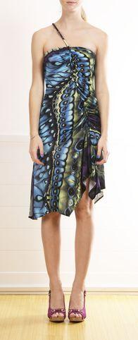 Butterfly Print Dress.