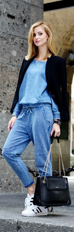 Denim Look / Fashion By Beauty.Fashion.Shopping