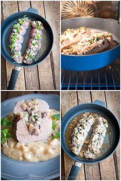 faszerowane polędwiczki wieprzowe Oatmeal, Rice, Meat, Chicken, Breakfast, Food Ideas, Polish Recipes, The Oatmeal, Morning Coffee