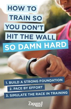 When it comes to training for a race, there's a few things to consider. Here are four ways to avoid hitting the wall as well as other tips and tricks for training to support your race goals.