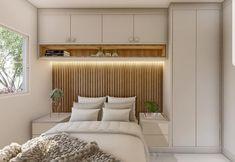 Bedroom Wall Designs, Room Design Bedroom, Bedroom Furniture Design, Home Decor Bedroom, Home Design Decor, Modern Interior Design, House Design, Bed Back Design, Fitted Bedrooms