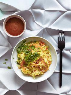 Paistettu riisi (fried rice)