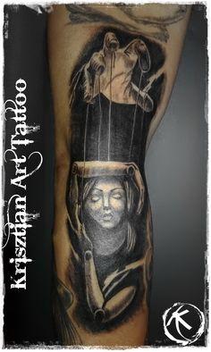 Krisztian Art Tattoo - marionette