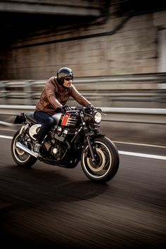 Custom Honda CB750 by Macco Motors