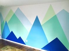 Wall Mural Mountain Theme for Baby's Room