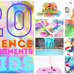 20 Science Experiments for Kids