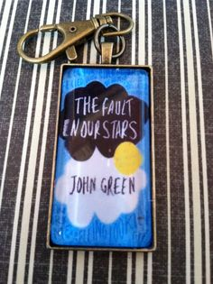 Etsy The Fault in Our Stars Keychain so need it might make it I need it so much