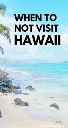 When is the best time to go to Hawaii for weather and when to visit Hawaii vacation tips for planning trip to Hawaii on a budget to Kauai, Maui, Oahu Hawaii, Big Island for outdoor travel destinations. Hawaii Vacation Tips, Trip To Maui, Honeymoon Vacations, Beach Trip, Vacation Ideas, All Inclusive Hawaii Vacations, Family Vacations, Honeymoon In Hawaii, Hawaii Vacation Packages