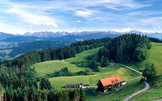 Enjoy Your Vacation, Germany, Mountains, Street, Holiday, Nature, Travel, Image, Beautiful