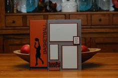 Basketball scrapbook page by A Page