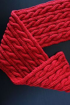 Video Knitting Tutorial - How to Make Reversible Cables from notmartha.org. Hint - everything is ribbed so it's totally reversible, otherwise the same as regular cable stitch knitting.