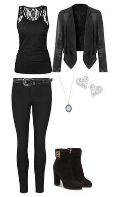 """katherine pierce outfit from vampire diaries"" by mzkk on Polyvore featuring Indigo Collection, Salvatore Ferragamo, Armenta and Vivienne Westwood"