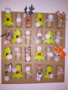 Christmas Crafts For Gifts, Easter Crafts For Kids, Craft Gifts, Diy For Kids, Christmas Diy, Christmas Decorations, Xmas, Advent Calendars For Kids, Diy Advent Calendar