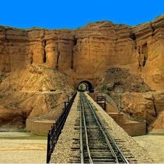 Rohri to Quetta railway track is the longest Railway gradient in the world, and most scenic Railway ride of Asia. This track passes through 20 tunnels and over 368 bridges. This track extends from Quetta to Turkey through Iran.