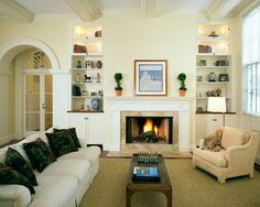 Carriage House Estate traditional-living-room