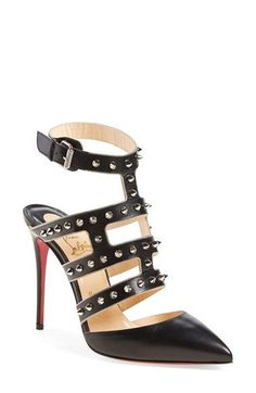 Christian Louboutin 'Tchikaboum' Caged Pump available at #Nordstrom