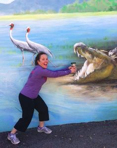 "Lisa: ""No way the Gator is getting my Vino2Go!"" #winesippycup #Vino2Go @The Product Farm store.theproductfarm.com"