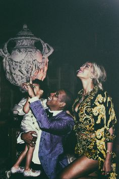 Beyonce, Jay Z, and Blue Ivy