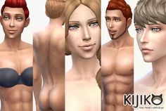 http://kijiko-catfood.com/skin-tone-glow-edition-and-skin-texture-overhaul/