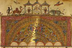 Georgian MSS - Illuminated manuscript - Wikipedia, the free encyclopedia Medieval Manuscript, Medieval Art, Illuminated Manuscript, Mesoamerican, Medieval Clothing, Christian Art, Religious Art, Illuminati, Byzantine