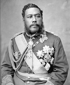 Kalākaua, born David Laʻamea Kamanakapuʻu Mahinulani Nalaiaehuokalani Lumialani Kalākaua and sometimes called The Merrie Monarch (November 16, 1836 – January 20, 1891), was the last reigning king of the Kingdom of Hawaiʻi. He reigned from February 12, 1874 until his death in San Francisco, California, on January 20, 1891. (from wikipedia.org)