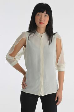Guess By Marciano Long Sleeved Shirt, White