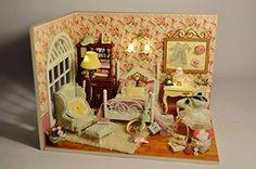 Cuteroom Dollhouse Miniature DIY Dolls House Room Kit wit... https://www.amazon.com/dp/B01MFC0H1E/ref=cm_sw_r_pi_dp_x_4avyybGRARB3F