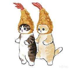 Pretty Art, Cute Art, Posca Art, Arte Sketchbook, Illustration Art, Illustrations, Cute Animal Drawings, Cute Cat Drawing, Cute Animal Tattoos