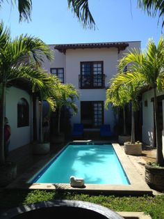 We toured some beautiful colonial homes in Granada