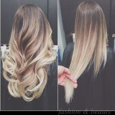 Gorgeous ombre-wavy or smooth!