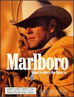 vintage-cigarette-posters:  Marlboro