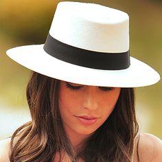 chapeu panamá feminino