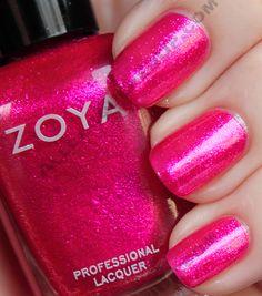 Zoya Sparkle Collection: Gilda is kind of like Alegra's brighter, lighter sister.