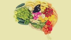 (Brain Food) Eat Smart, Literally: 7 Superfoods To Support Brain Health Healthy Brain, Brain Food, Brain Health, Healthy Eating, Healthy Foods, Mental Health, Funny Food Memes, Gut Bacteria, Fresh Fruits And Vegetables