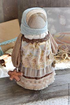 """куколка""""Пряничный ангел"""". - бежевый,пряничный ангел,народные куклы,народная традиция"""