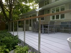 AGS Stainless is ideal for a sleek, modern steel cable railing system that is custom-designed to fit your installation. FREE estimate from your sketch.